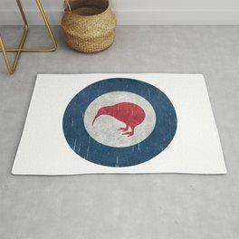 """New Zealand """"Kiwi"""" Roundel air force Rug"""