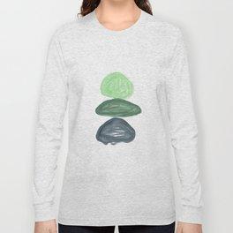 Rock Stack Green Long Sleeve T-shirt