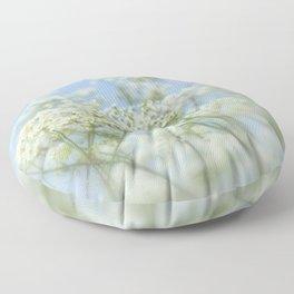 Queen Annes Lace Floor Pillow