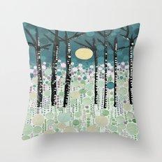 :: Moonlight Kiss :: Throw Pillow