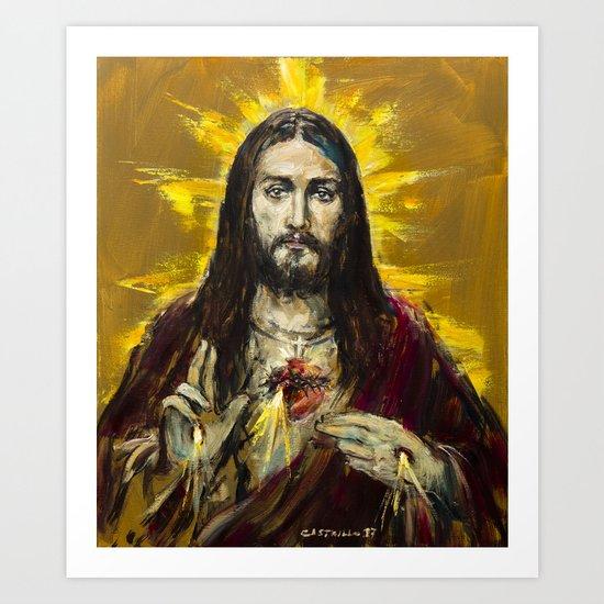 Cor Jesu Sacratissimum by castrillo