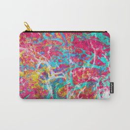 Abstract Painting with Texture Carry-All Pouch