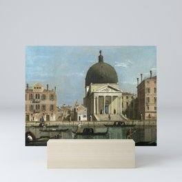 Venice: S. Simeone Piccolo by Follower of Canaletto Mini Art Print