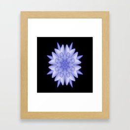 Soothing moments... Framed Art Print