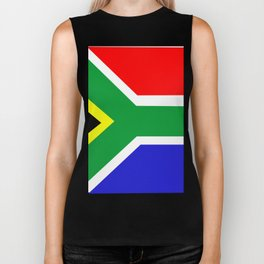 Flag of South Africa Biker Tank