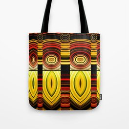 Fractured Ring 17 Tote Bag