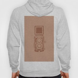 Vintage Rolleiflex Camera Illustration Hoody
