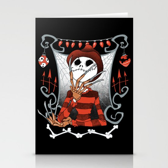 Nightmare King Stationery Cards