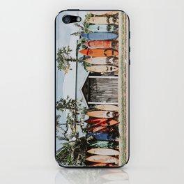 lets surf vi / maui, hawaii iPhone Skin