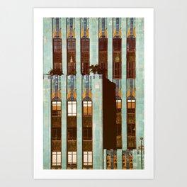 Art Deco Detail of the Eastern Building - Los Angeles #76 Art Print
