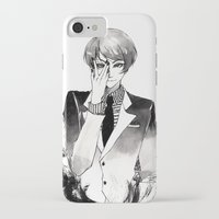 tokyo ghoul iPhone & iPod Cases featuring Tokyo Ghoul Ink by fruits