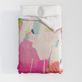 pink sky II Comforters