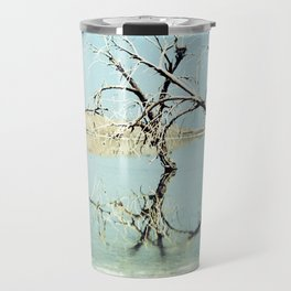 Three Trees in the Sea - Salton Sea California Travel Mug