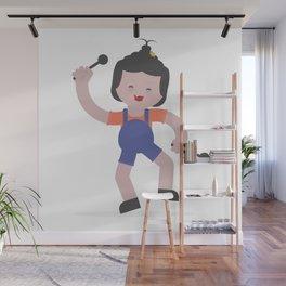 Kids Make Us Happy Wall Mural