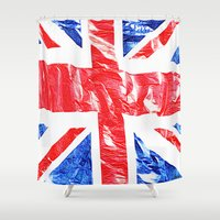 uk Shower Curtains featuring UK by arnedayan