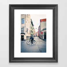 Copenhagen Bicycle (Alternate Size) Framed Art Print