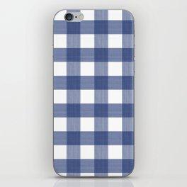 Blue Buffalo Check iPhone Skin