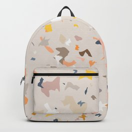Lively Colorful Terrazzo Pattern Backpack