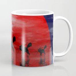mooncats -3- Coffee Mug