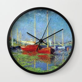 Claude Monet - Argenteuil Wall Clock