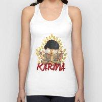 karma Tank Tops featuring Karma by Seez