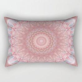 Mandala pink balance Rectangular Pillow