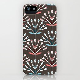 Daily pattern: Retro Flower No.7 iPhone Case