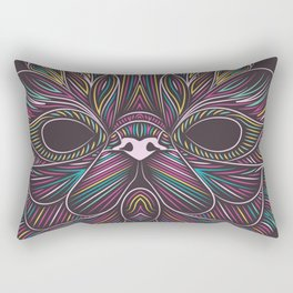 Cat#3 - Exotic Shorthair Rectangular Pillow