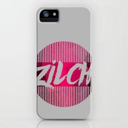 Zilch iPhone Case