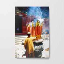 Shaolin Monk Metal Print