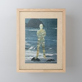 Old Man and The Sea Framed Mini Art Print