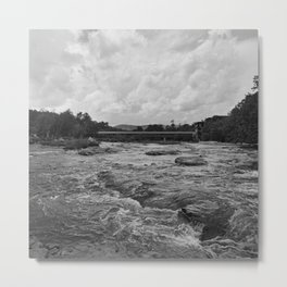 Looking Downriver Metal Print