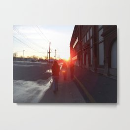 An Allentown Sunset Metal Print