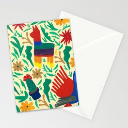 Mexico-Inspired Pattern Stationery Cards