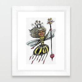 Queen Bee of Color Framed Art Print