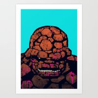 Whump! Art Print