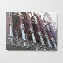buttresses Metal Print
