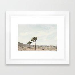trees of joshua Framed Art Print