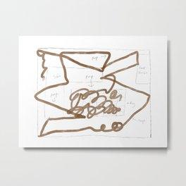 Poopocalypse Now Metal Print