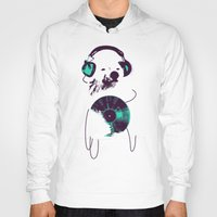 record Hoodies featuring Record Bear by Picomodi