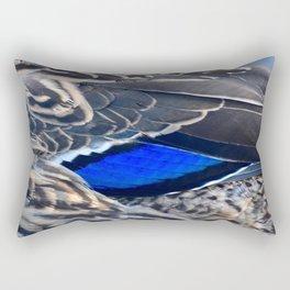 Duck Feathers Rectangular Pillow
