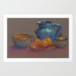 Pottery Composition Art Print