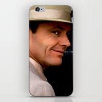 jack nicholson iPhone & iPod Skins featuring Jack Nicholson @ China Town by Gabriel T Toro