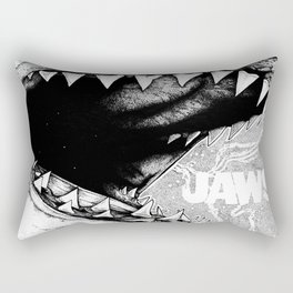 Jaws Rectangular Pillow