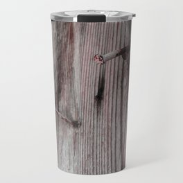 Rusty timber Travel Mug