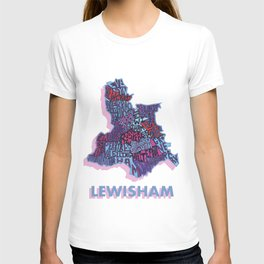 Lewisham - London Borough - Colour T-shirt