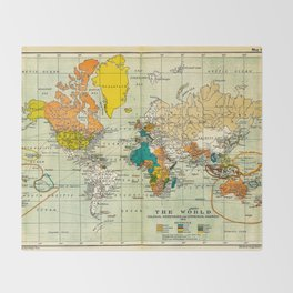 Old world map throw blankets society6 map of the old world throw blanket gumiabroncs
