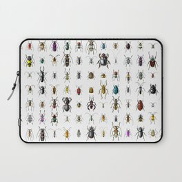 Beetlemania / Get your entomology on! Laptop Sleeve