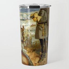 General Lee At The Battle Of Fredericksburg Travel Mug