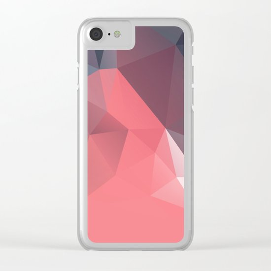 Geometric XXI Clear iPhone Case